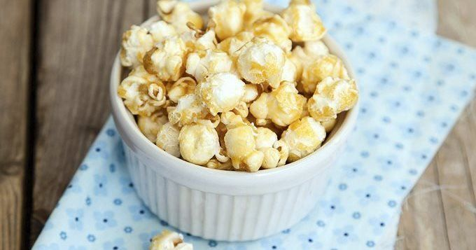 pop corn  from USA  recettes