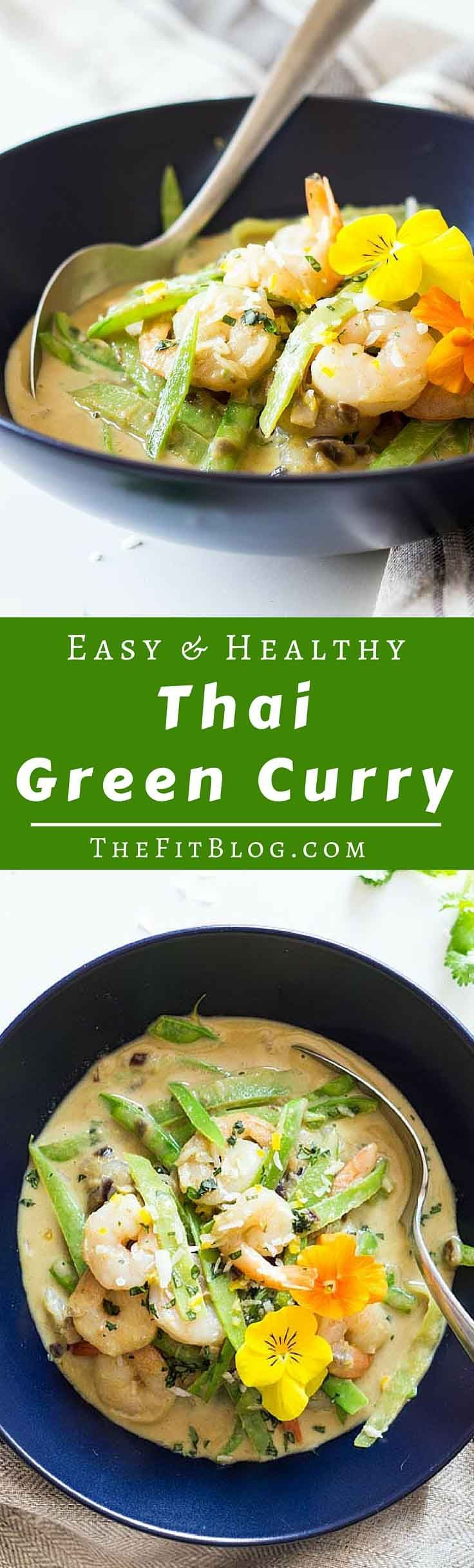 1679 best healthy creative recipes images on pinterest cooking a healthy easy and delicious thai green curry with shrimp whipped up in only 20 forumfinder