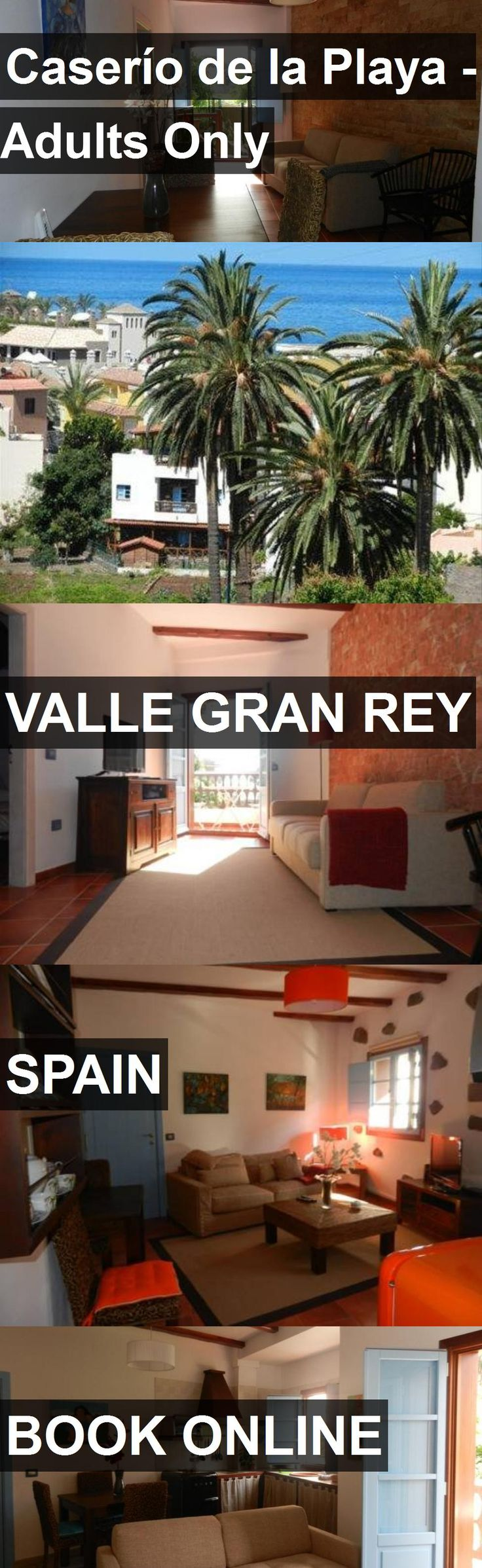 Hotel Caserío de la Playa - Adults Only in Valle Gran Rey, Spain. For more information, photos, reviews and best prices please follow the link. #Spain #ValleGranRey #travel #vacation #hotel