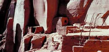 Navajo National Monument preserves threeintact cliffdwellings of the Ancestral Puebloan people.A visitor center, museum,three short self-guidedtrails,two small campgrounds, and a picnic area provide service to travelers.