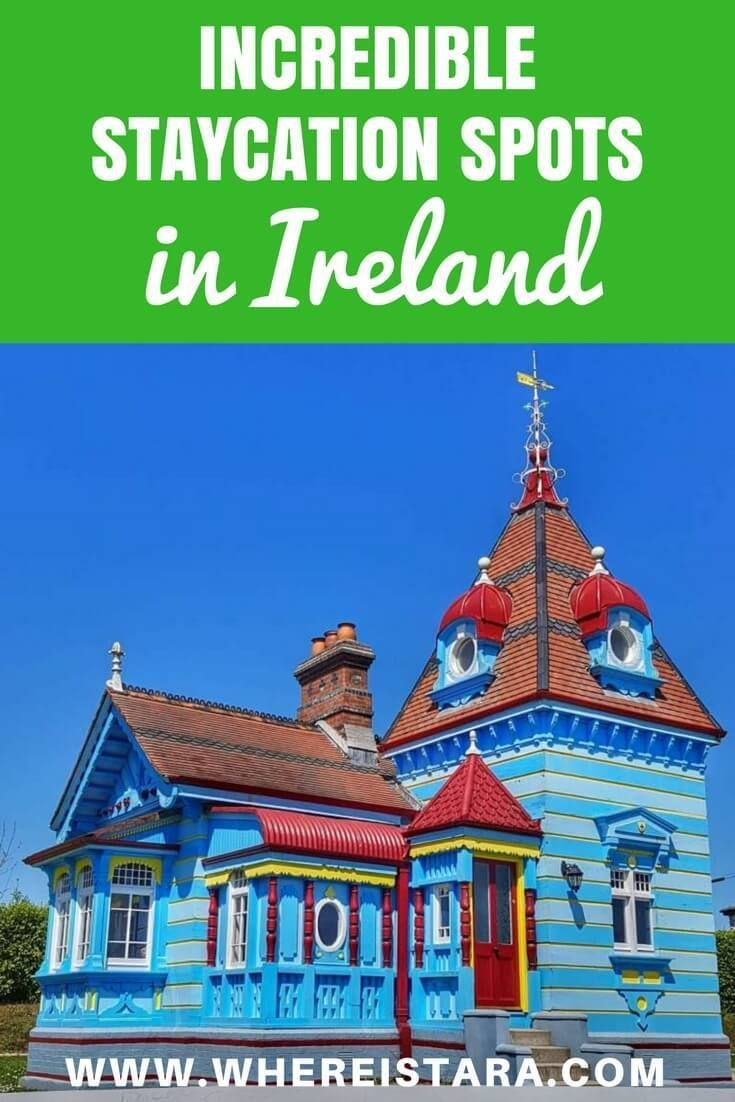There are so many great staycation spots in Irealnd that it can sometimes be hard to choose. SO I'm here to give you some staycation ideas for Ireland. From Belfast to a Doll's House in Wexford and more.
