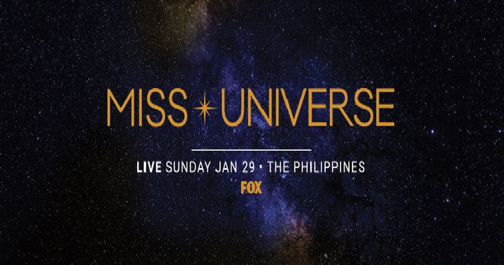 Miss Universe 2016 Live Streaming