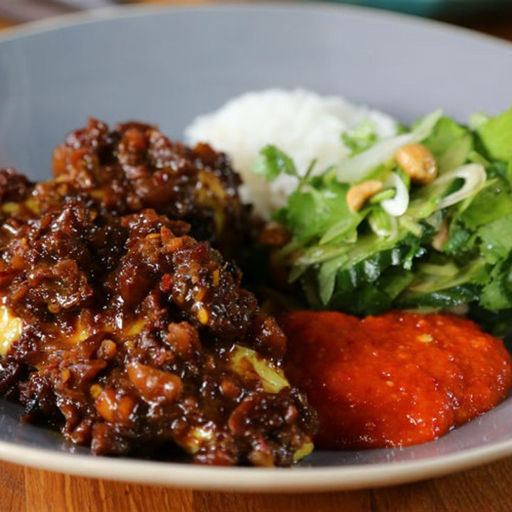 Try this Super Satay Chicken recipe by Chef Tom Kerridge. This recipe is from the show Tom Kerridge's Best Ever Dishes.