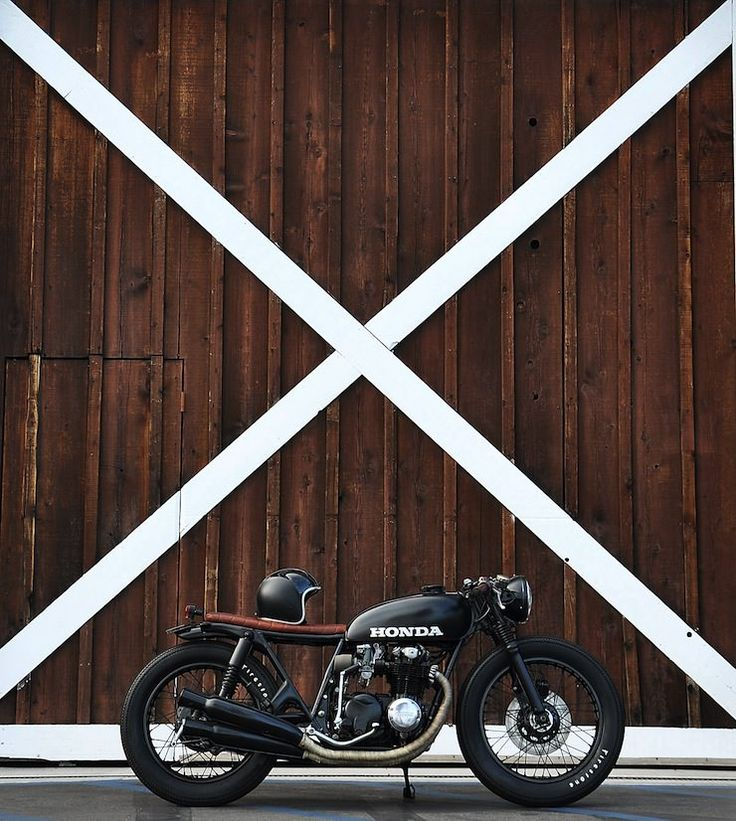 Honda CB550 by Seaweed & Gravel : : : modern cafe brat, new-wave cafe racer, new vintage look