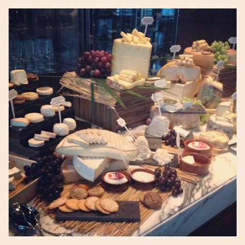 From the cheese room at the new Sofitel Sukhumvit Bangkok