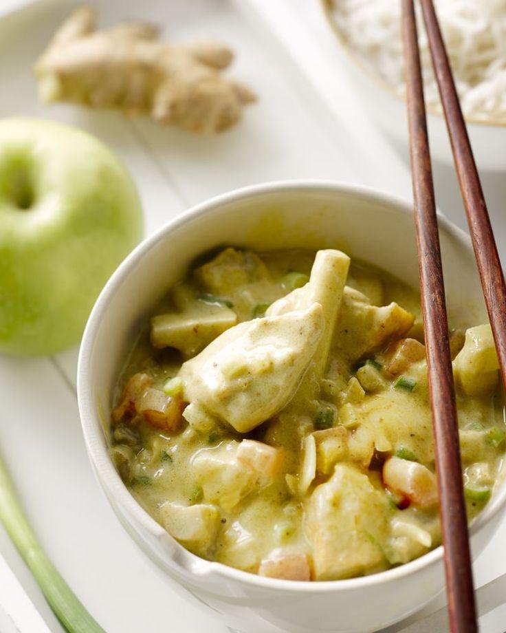 Kip met rijst en curry #15gram