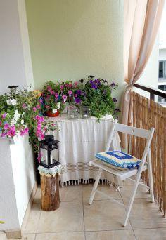at my balcony, balcony decor