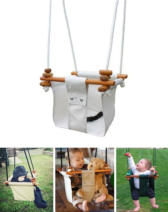Solvej swings are made in New Zealand from weather proof materials, natural durable timber, rot proof canvas and stainless steel fittings so you can use it outdoors