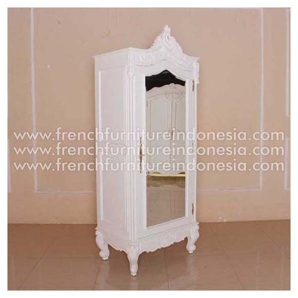 Order French Armoire 1 Door With Glass From Jepara Reproduction Furniture  Manufacturer. We Are Reproduction