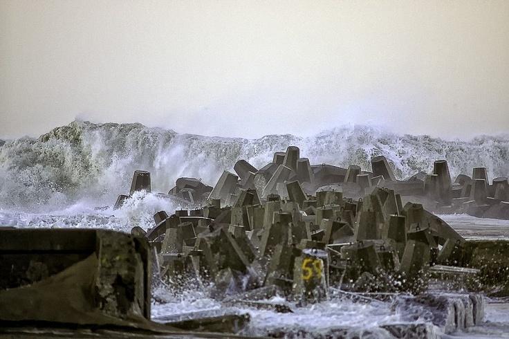 Thyborøn, Storm 2012