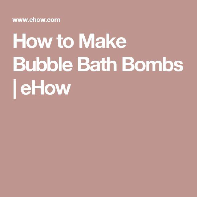 how to make good bombs