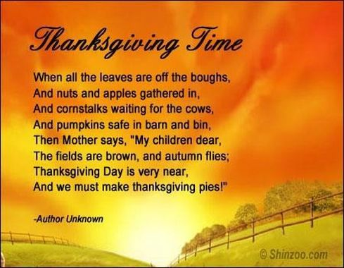 Christian Thanksgiving Poems | Great Images Gallery ...
