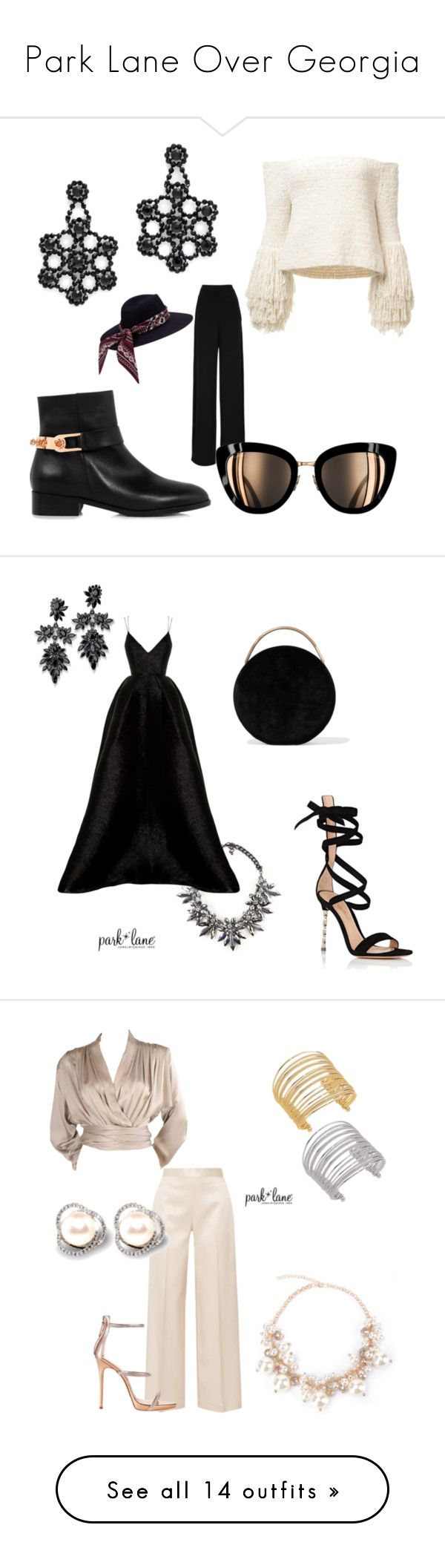 Park Lane Over Georgia by parklaneovergeorgia on Polyvore featuring polyvore, fashion, style, Rochas, Eugenia Kim, Kate Spade, clothing, Alex Perry, Gianvito Rossi, Eddie Borgo, Fallon, The Row, Yves Saint Laurent, Giuseppe Zanotti, Roksanda, See by Chloé, Goen.J, Badgley Mischka, Design Lab, Michael Kors, Boohoo, Oscar de la Renta, self-portrait, Balenciaga, Nine West, Urban Decay, Love Moschino, Madden Girl, RED Valentino, Rick Owens, Jeffrey Levinson and River Island