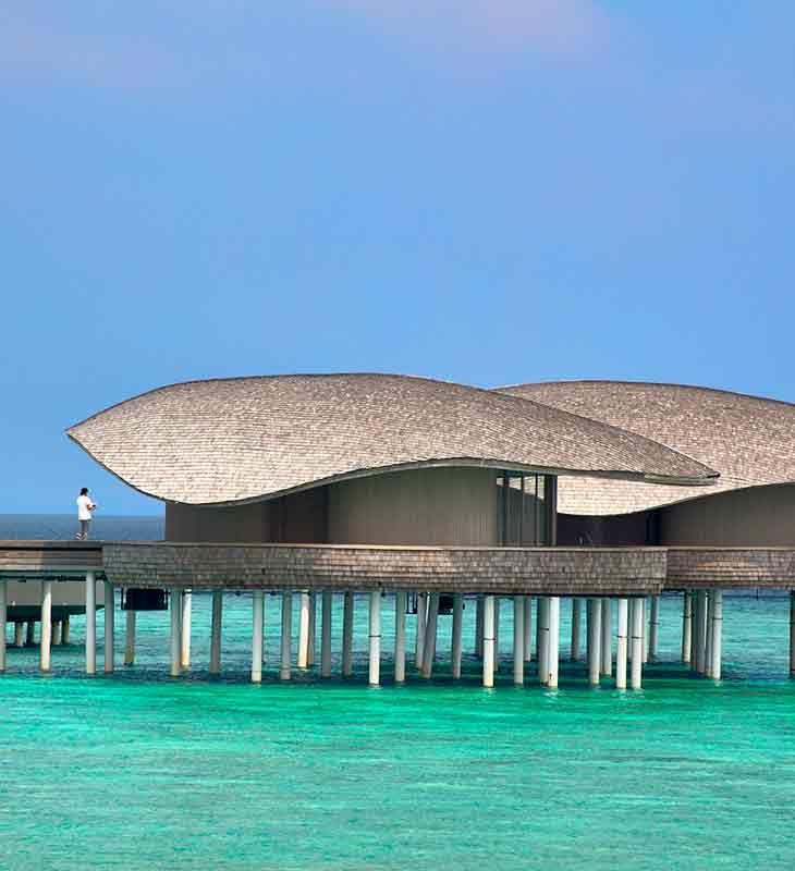 Bluehole Spa At St Regis Maldives Vommuli Island Resort By WOW Architects |  Warner Wong Design