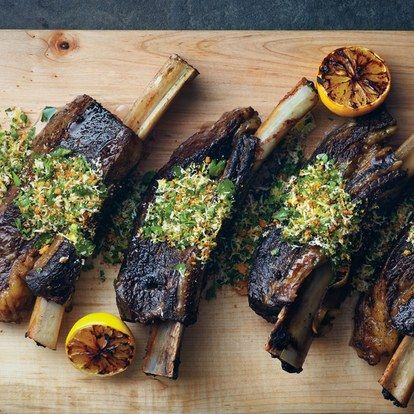 Slow Cooked Short Ribs with Gremolata