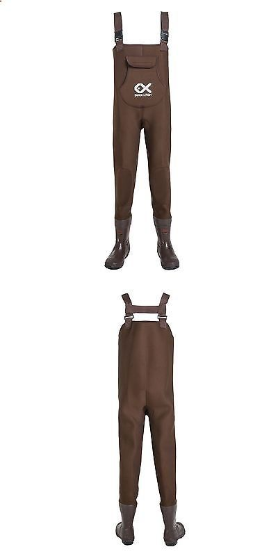Fishing Waders - Waders 177876: Duck And Fish Deep River Brown Neoprene Hunting Fishing Chest Wader -> BUY IT NOW ONLY: $89.9 on eBay!