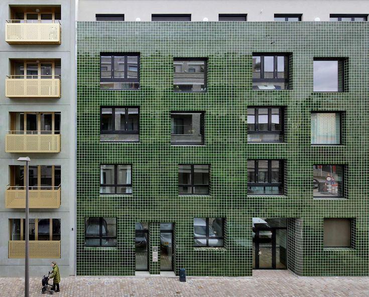 Kachel und Glanz in Antwerpen – Wohnblock von META, KGDVS, noAarchitecten und de vylder vinck taillieu