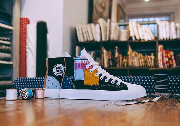 "#sneakers #news  Footpatrol x PRO-Keds Royal Hi ""Patchwork"""