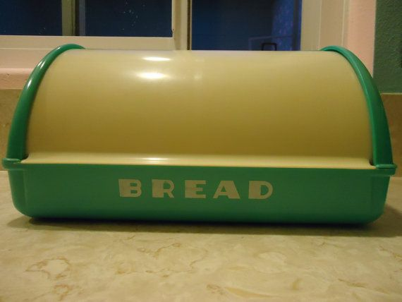 Turquoise Bread Box 23 Best Vintage Bread Boxes Images On Pinterest  Midcentury Bread