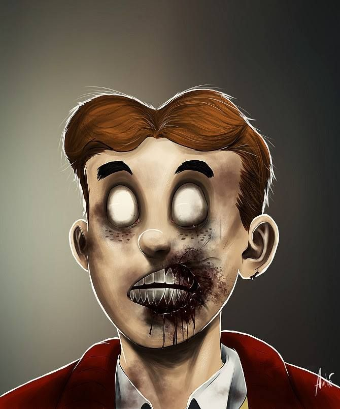 Retratos zombies. Un proyecto del fotógrafo e ilustrador Andre de Freitas.