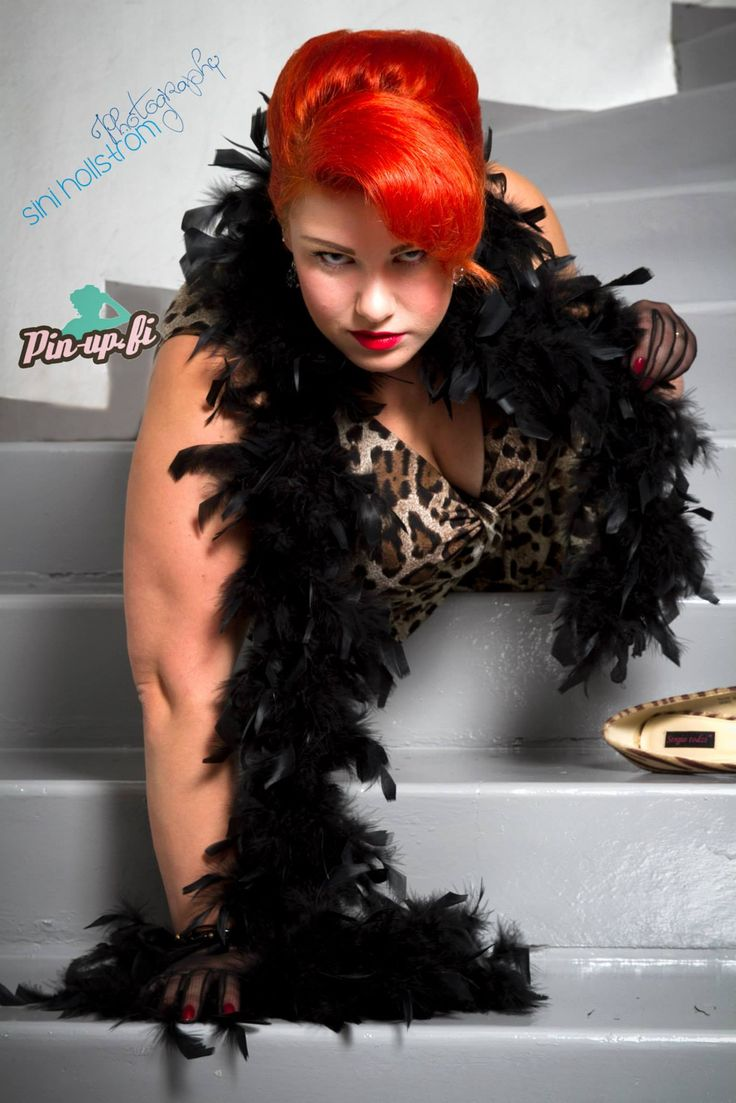 photographer Sini Hollström, Lieksa  www.pin-up.fi Red bouffant hair