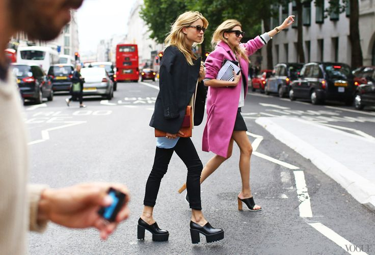 Street Style: London Fashion Week Spring 2014 - #LFW #streetstyle