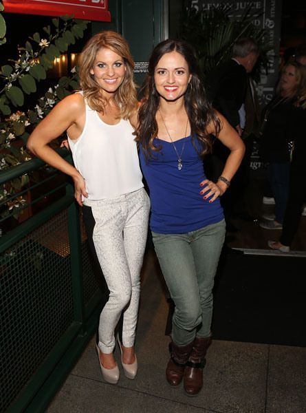 Flashback!!! Candace Cameron-Bure and Danica McKellar pose together and celebrated their dancing debuts at the Mixology101 DWTS after party at the Grove.
