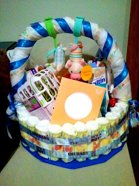 641 Best Diaper Cakes Images On Pinterest Baby Shower