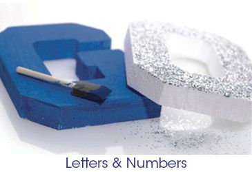 Parade Float Supplies & Ideas -   Letters & Numbers