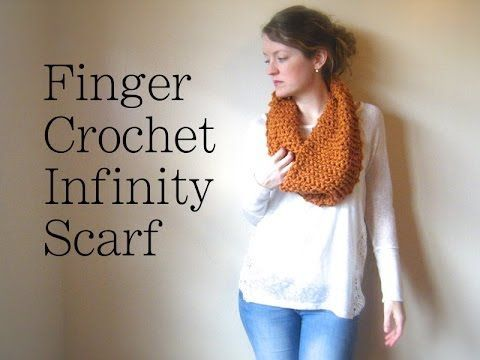 Arm Crochet an Oversized Cowl in 1 Hour - YouTube