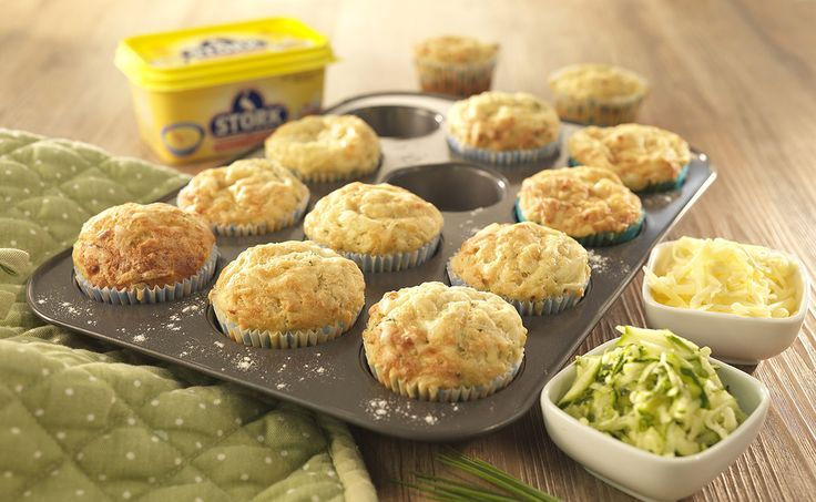 Cheese & Courgette Muffins