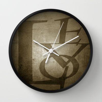 Love Wall Clock by Fine2art - $30.00