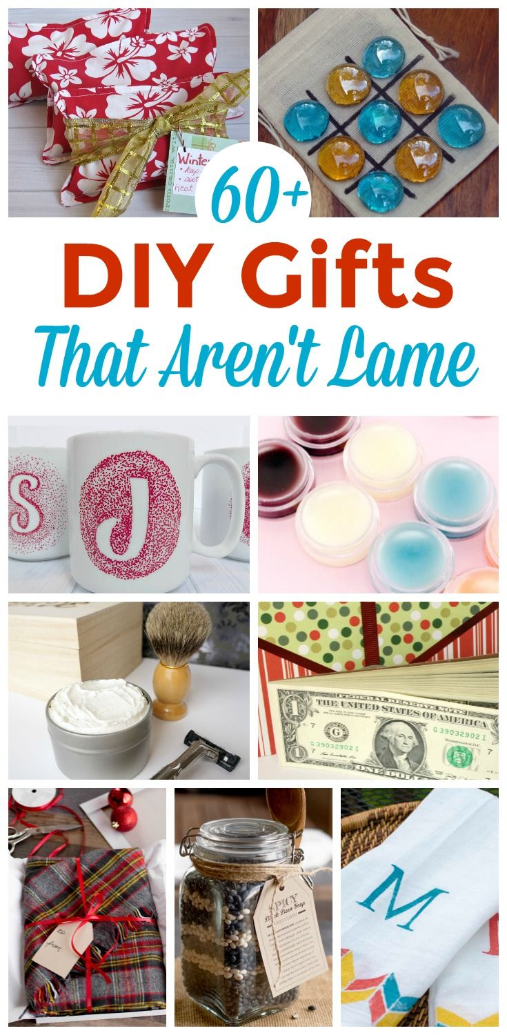 Diy Gifts Don T Have To Be Hard To Make Or Lame This