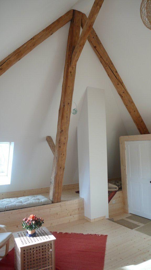 8 best Rénovation du0027une grange images on Pinterest Mezzanine, Room - renovation electricite maison ancienne