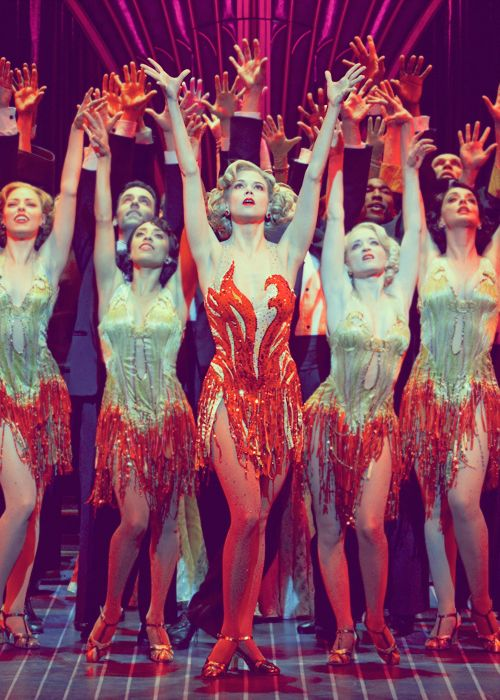 I played Reno Sweeny, the lead in this musical. One of the best times of my life.    Anything Goes Revival - Sutton Foster
