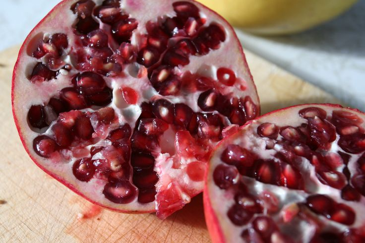 pomegranate sliced - Google Search
