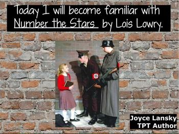 For under ten dollars, here is a complete 183 page literary unit for Number the Stars in Power Point format. Why so inexpensive? It's supply and demand. There are many Number the Stars units to choose from on TPT, so I've made my unit available at a low price.