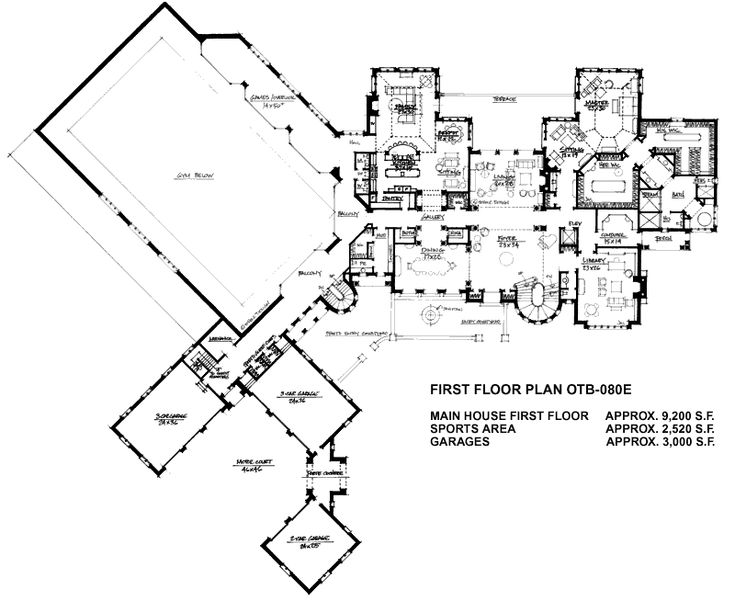 Mega Mansion House Plans 22 best house plans images on pinterest | house floor plans, floor