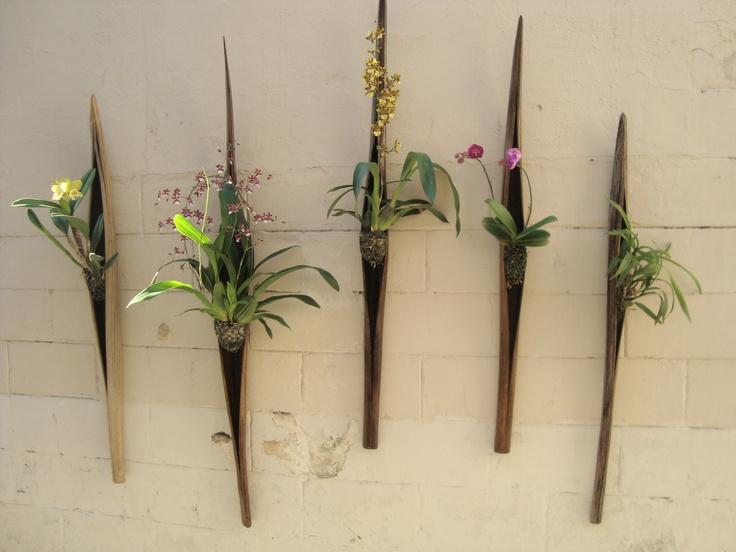 Jardim Vertical de Orquideas  Vertical Garden  Pinterest