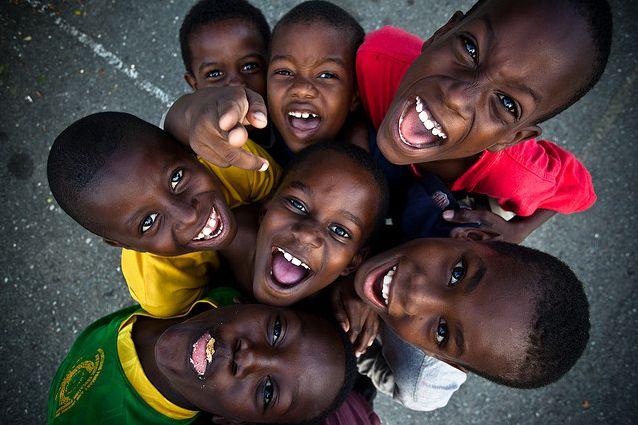 Kingston, Jamaica :: Boys at a Boy's Club in a local church