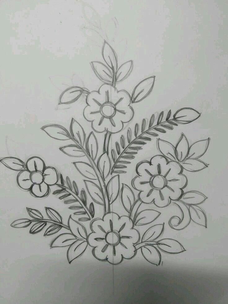 Pin De Gladys Lima Em Dibujos Riscos Para Bordar Desenhos