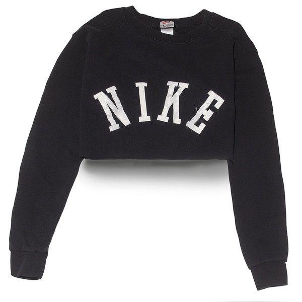 Nike Big Logo Crop Top Medium Perennial Merchants (£21) ❤ liked on Polyvore featuring tops, nike, mint green top, logo tops, mint crop top and nike tops