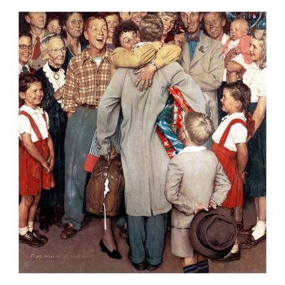 Norman Rockwell Poster at AllPosters.com