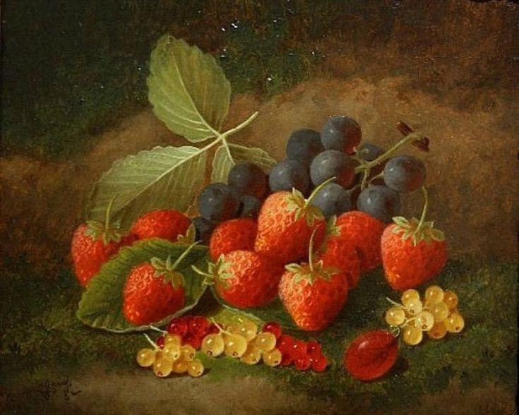 George Crisp. Strawberries