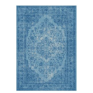 <strong>Trinity Creations</strong> Kurt Oriental Blue Rug