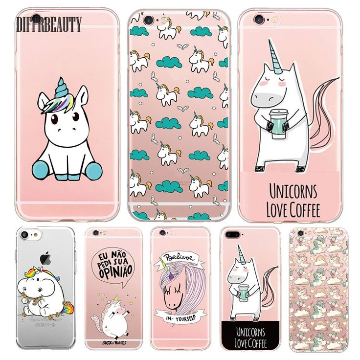 1.79$  Watch now - http://ai9lt.worlditems.win/redirect/32522821596 - Cute Unicorn Cartoon Transparent Ultra Thin Flexible Soft Silicone Phone Case Back Cover For iPhone 5S 6 6S 7 6Plus For Samsung   #bestbuy