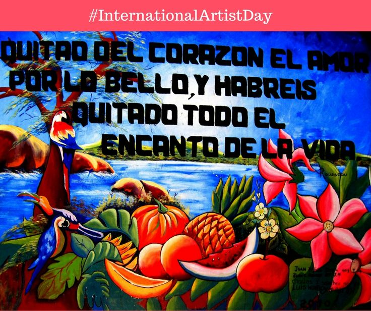 Happy #InternationalArtistDay!  Painter, photographer, musician, can you name a Colombian artist? 👨🏽‍🎨