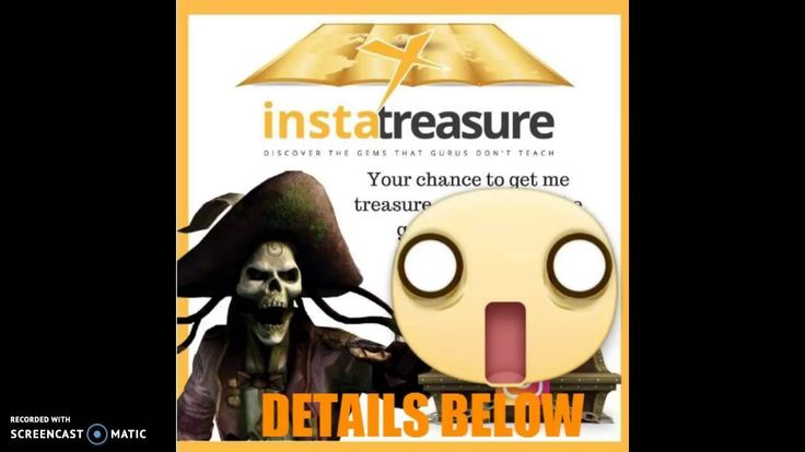 Insta Treasure Map http://bit.ly/Insta-Treasure