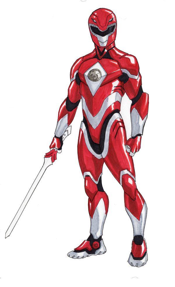 Red Ranger Redux by DavidFernandezArt.deviantart.com on @deviantART