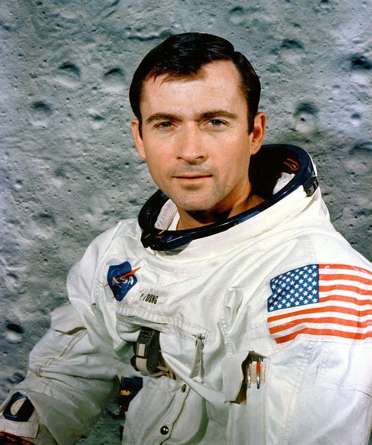 John Young's Apollo 10 portrait.